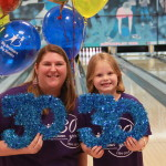 Big Sister Rachel Little Sister Kaliey at Bowl for Kids Sake